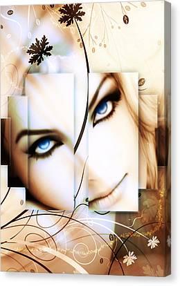 Enchanted Eyes Canvas Print