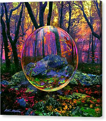 Enchanted Forest Canvas Print by Robin Moline