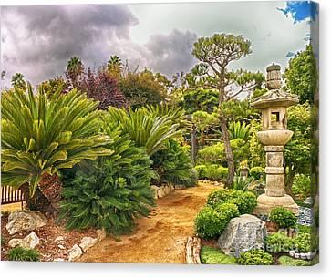 Enchanted Garden 1 Canvas Print
