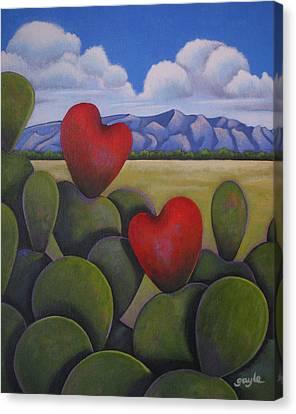 Enchanted Hearts Canvas Print