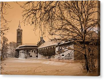 Enchanted Old Town Canvas Print by Davorin Mance