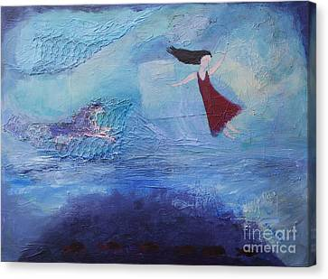 Enchanted Canvas Print by Stella Levi