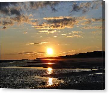 Enchanting Sunset Canvas Print
