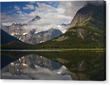 Enchanting Swiftcurrent Canvas Print by Mark Kiver