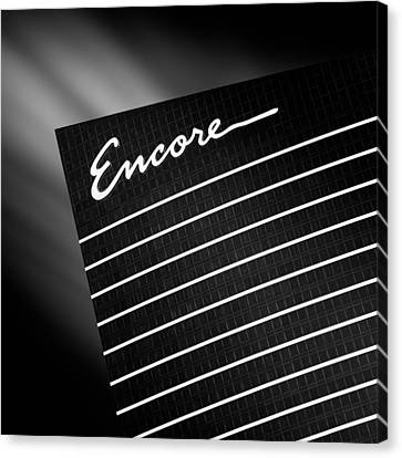 Encore Canvas Print by Dave Bowman