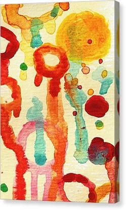 Encounters 1 Canvas Print by Amy Vangsgard