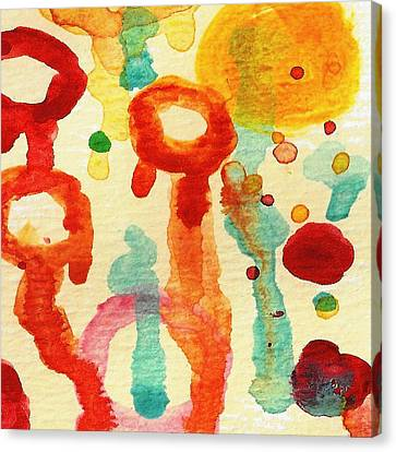 Encounters 7 Canvas Print by Amy Vangsgard