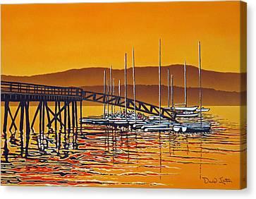 Encounters With Color Canvas Print by David Linton