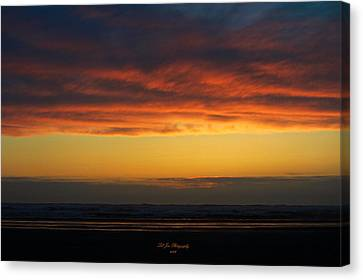 End Of A Perfect Day Canvas Print by Jeanette C Landstrom