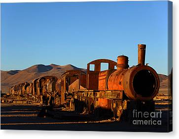 End Of An Era Canvas Print by James Brunker