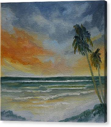 End Of Day Canvas Print by Rosie Brown