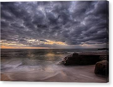 End Of Light Canvas Print by Peter Tellone
