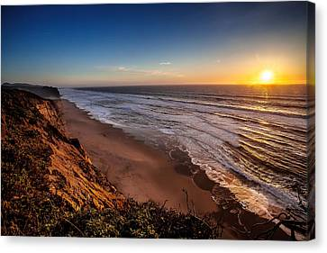 Canvas Print featuring the photograph End Of The Day by Steven Reed