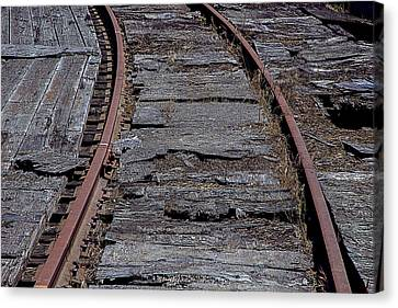 End Of The Line Canvas Print by Garry Gay