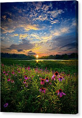End Of The Night Canvas Print by Phil Koch