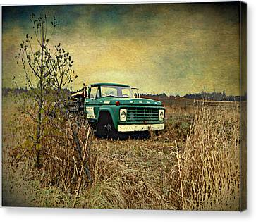 End Of The Ride  Canvas Print by Dianne  Lacourciere