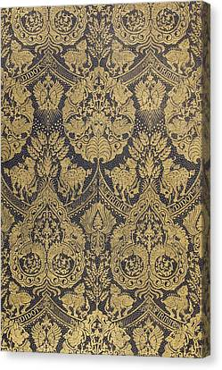 End Paper From A Book Published By Firmin Didot Of Paris Canvas Print by French School