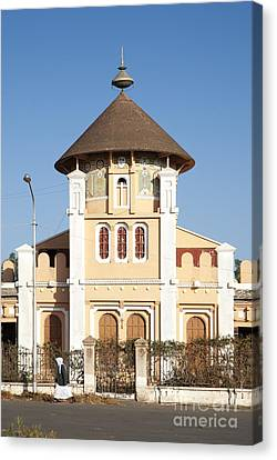 enda Mariam cathedral in asmara eritrea Canvas Print