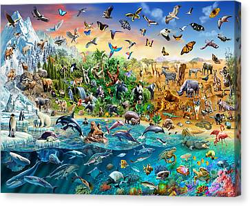 Endangered Species Canvas Print by Adrian Chesterman