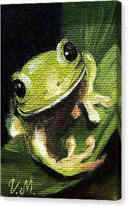 Endangered Tree Frog Canvas Print