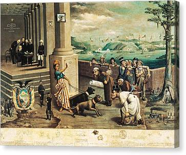 Endara, Carlos Manuel 1827 - 1924. The Canvas Print by Everett
