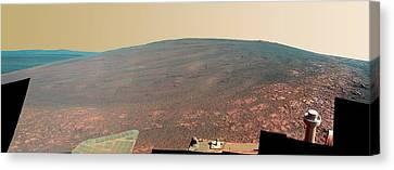 Endeavour Crater Canvas Print