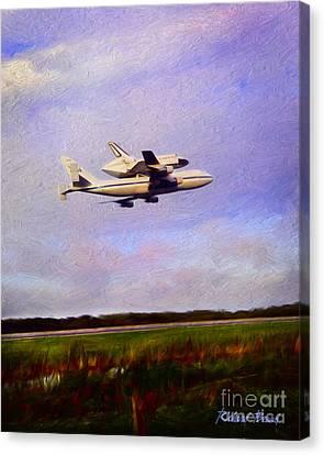 Endeavour The Final Flight Canvas Print