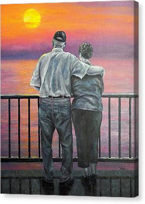 Endless Love Canvas Print by Susan DeLain