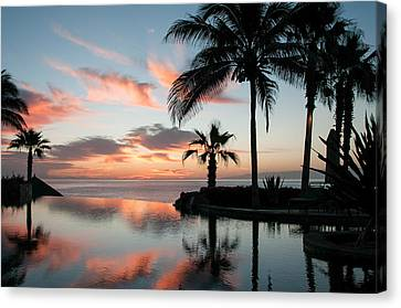 Endless Pool Canvas Print by Vernon Rosson