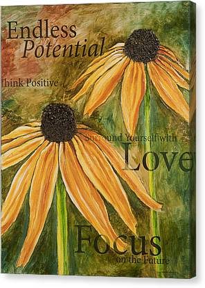 Endless Potential Canvas Print by Lisa Fiedler Jaworski