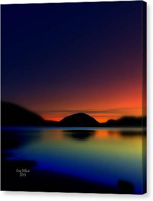 Endless Sleep Canvas Print by Greg DeBeck