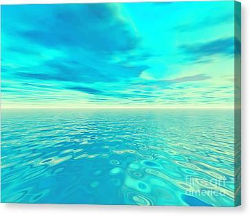 Endlessness Canvas Print