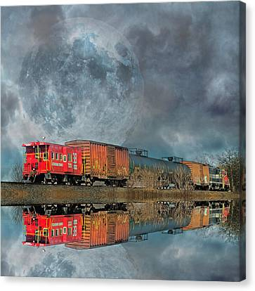 End's Reflection Canvas Print