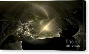 Energy Breaks Canvas Print by Peter R Nicholls
