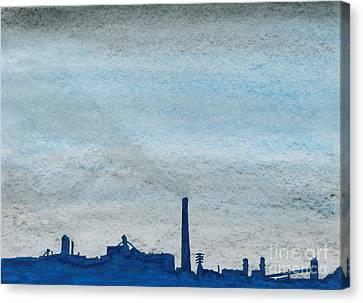 Energy Canvas Print by R Kyllo