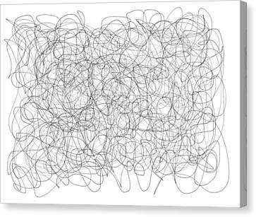 Daina Canvas Print - Energy Vortex by Daina White