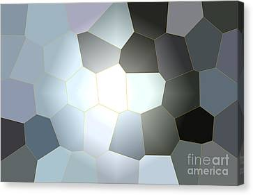 Energy Within - Abstract Art Canvas Print by Carol Groenen