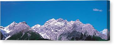 Engadin Switzerland Canvas Print by Panoramic Images