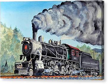 Engine 475 Canvas Print