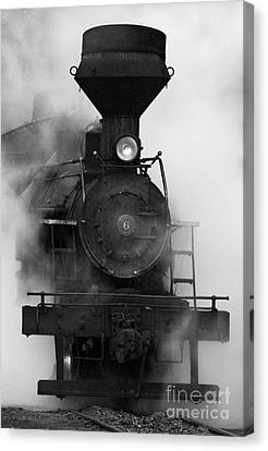 Canvas Print featuring the photograph Engine No. 6 by Jerry Fornarotto