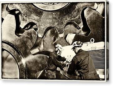 Engineering Old Style Canvas Print by Christian Lagereek