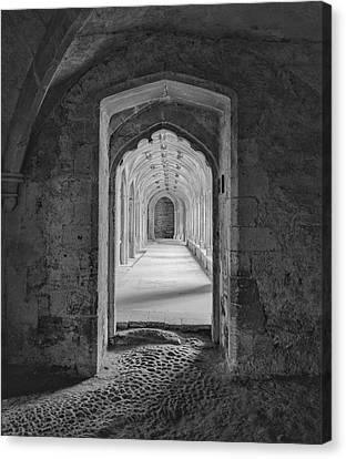 England, Lacock Abby, Entryway Canvas Print by John Ford
