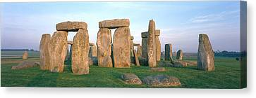 England, Wiltshire, Stonehenge Canvas Print by Panoramic Images