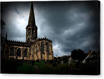 English Church Canvas Print