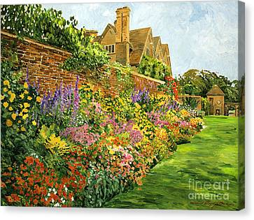 English Estate Gardens Canvas Print
