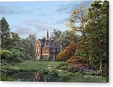 English Garden Canvas Print by Dominic Davison