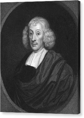 1690 Canvas Print - English Naturalist John Ray by Underwood Archives