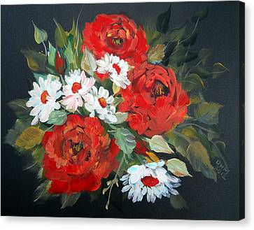 English Roses Canvas Print