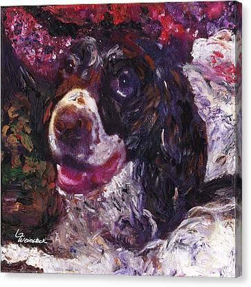 Alameda Tevye Canvas Print by Linda Weinstock