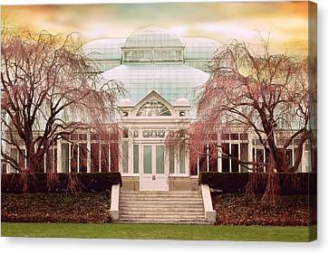 Enid A. Haupt Conservatory Canvas Print by Jessica Jenney